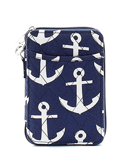 Anchor Quilted Mini Wallet...