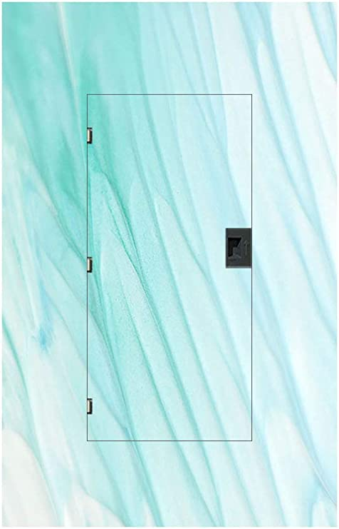 Fuse In Designs Decorative Electrical Panel Cover Sheer Turquoise Medium 16 X 35 Home Kitchen