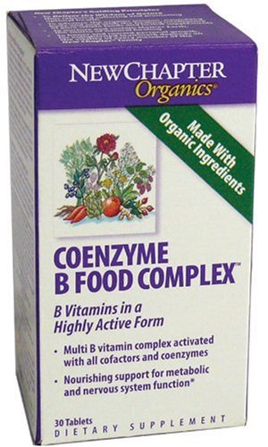 New Chapter Coenzyme B Food Complex, 30 Tablets  (Pack of 2)