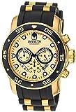 Invicta Men's 17566 Pro Diver Analog Display Swiss Quartz Black Watch