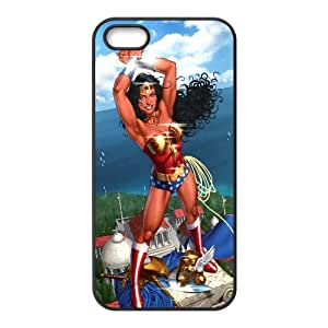 Wonder Woman Comic iPhone5s Cell Phone Case Black Customize Toy zhm004-3921487