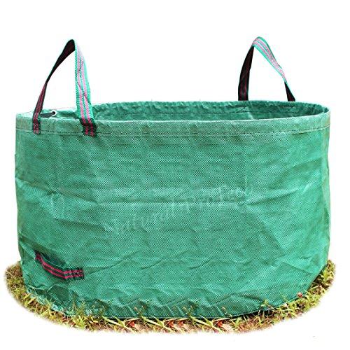 Natural ProTech Garden Reusable Leaf Bag 8.5 Cubic Foot Yard Lawn Gardening Waste Bag 63Gal For Sale