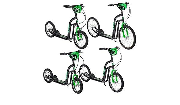 Alien Roller - Patinete con 4 tamaños de rueda diferentes ...