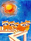 Cheap Caroline's Treasures 6009CHF Raccoons on The Porch Flag Canvas, Large, Multicolor
