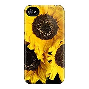 Perfect Sunflower Power Case Cover Skin For Iphone 4/4s Phone Case