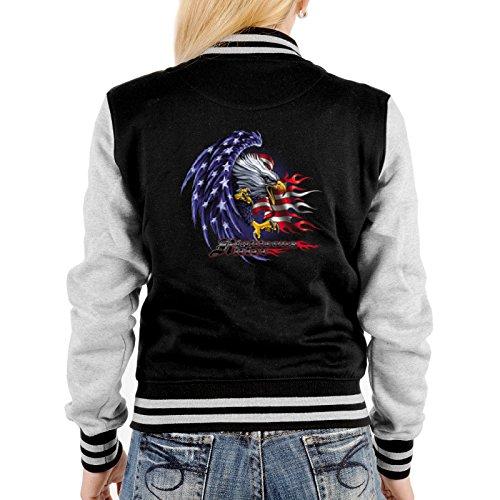 Negro Mujer Design Para Chaqueta Goodman ® wUBXxqWagW