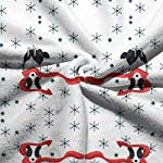 """WELCOMEH Border Collie Christmas (1) Microfiber Towels 27.5"""" X 17.5"""" Polyester Personality Funny Pattern Super Absorbent for Bathroom,Kitchen,Wash Car,Cleaning Towel 8"""