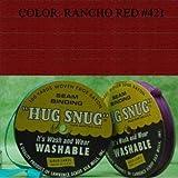 "100yds 1/2"" Schiff Seam Binding Hug Snug Ribbon Color Rancho Red #421"
