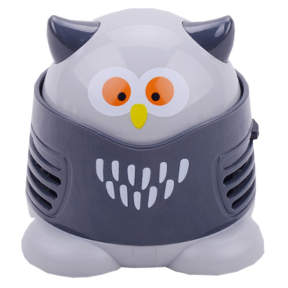 Creative Fashion Cool Mini Owl Keyboard Desktop Handheld Vacuums No Battery