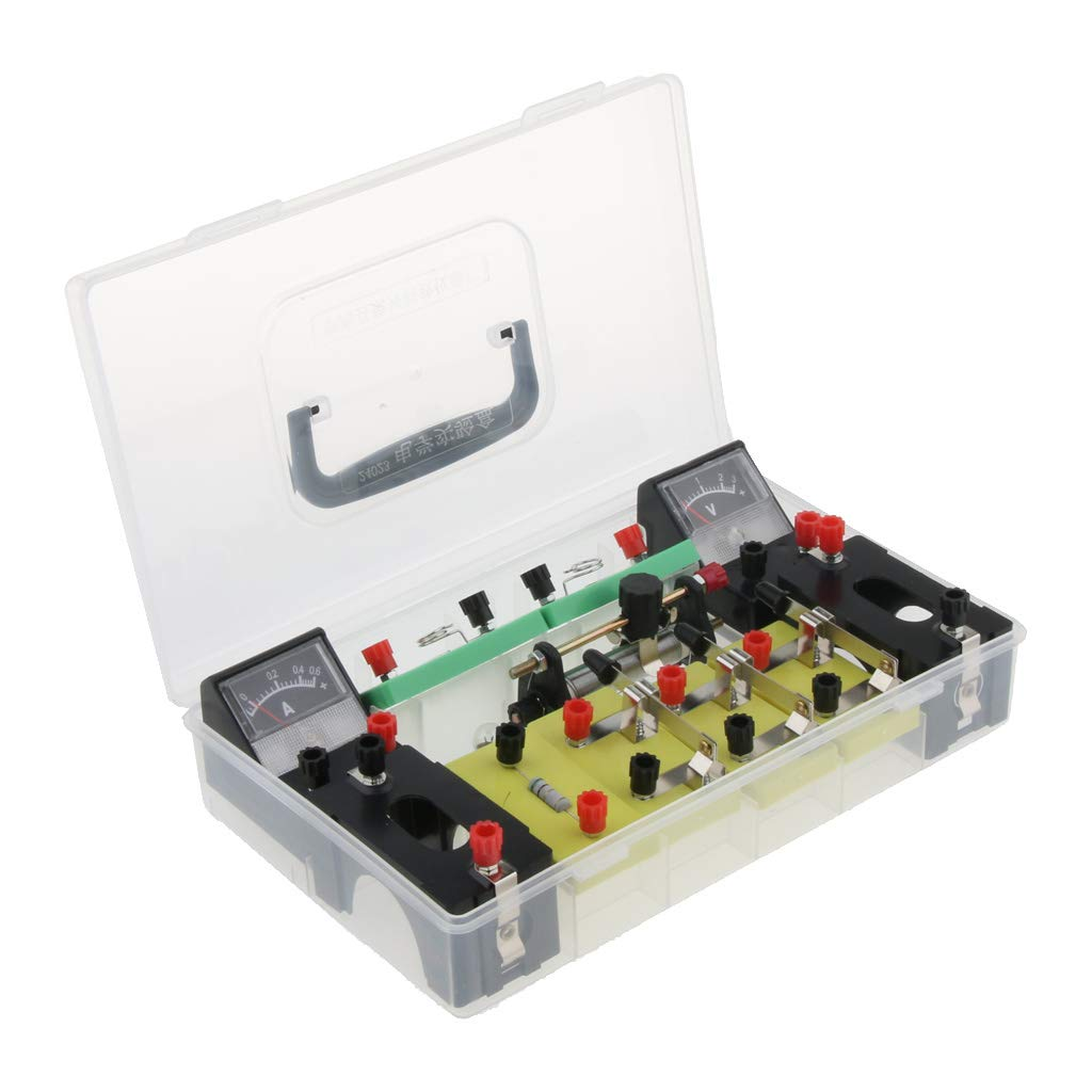 Comes with a strong storage box Almencla Physics Science Lab Basic Circuit Electricity Experiment Learning Kit