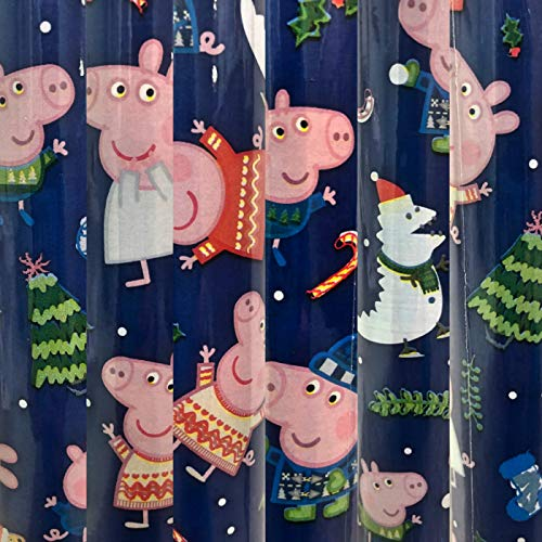 1 Roll Heavy Weight Peppa Pig Christmas Gift