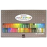 50 color set VP50N Sakura Color pastel crayon rolling thickly (japan import)