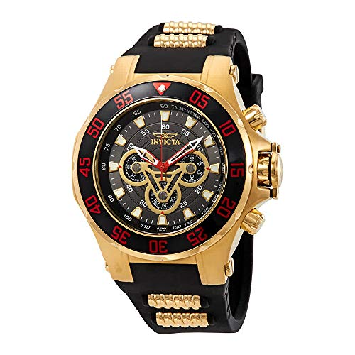 (Invicta Marvel Chronograph Black Dial Men's Watch 25987)
