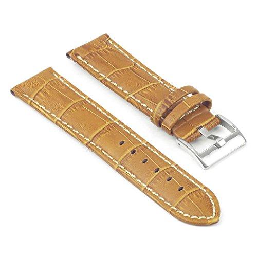 StrapsCo Premium Croc Embossed Leather Watch (Croc Embossed Strap)