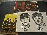 Five Assorted Vintage Beatles