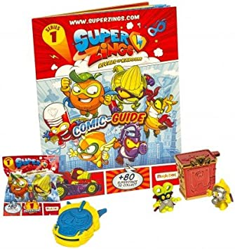 Magic Box - Superzings 092013603. Pack de Principiante: Amazon.es ...