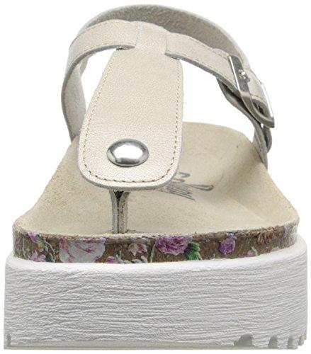 COOLWAY Women's Sadira Platform Sandal Ice elRL2z