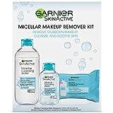 Loreal Cleansing Water - Garnier SkinActive Micellar Makeup Remover Kit