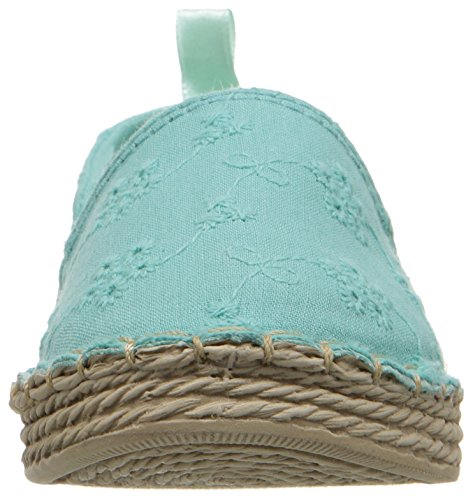 Carter's Astrid Girl's Espadrille Slip-On, Turquoise, 10 M US Toddler by Carter's (Image #4)