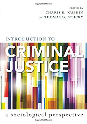 Amazon introduction to criminal justice a sociological introduction to criminal justice a sociological perspective 1st edition fandeluxe Image collections