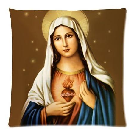 Virgen María funda cojín - manta funda de almohada Decor ...