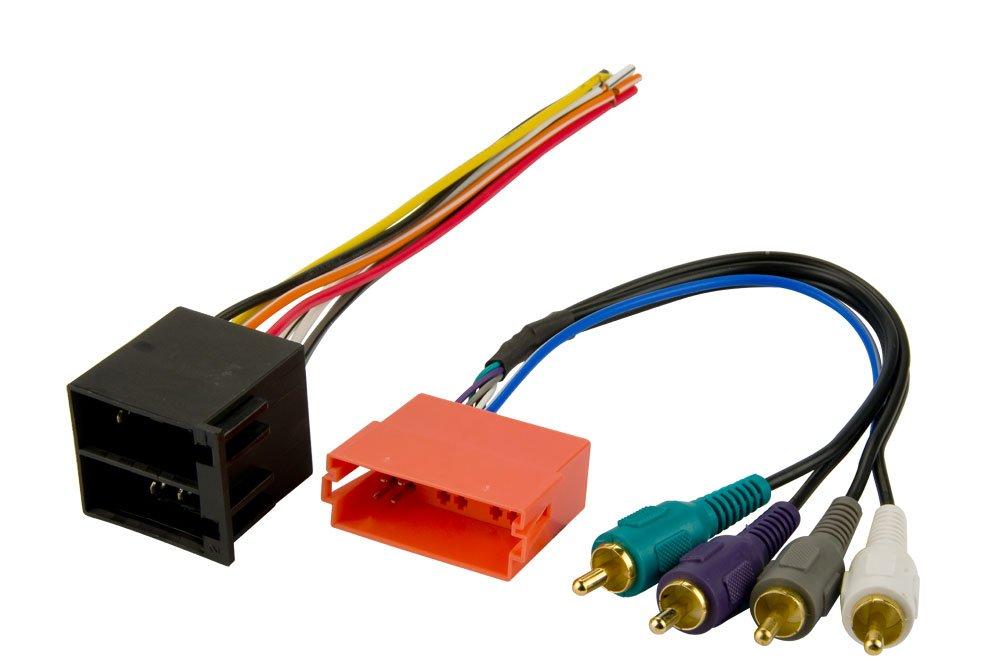 amazon com: stereo wire harness audi a4 (w/ symphony radio) 02 03 04 05 06  07 08 2002 2003 2004 2005 2006 2007 2008 (car radio wiring installation  parts):