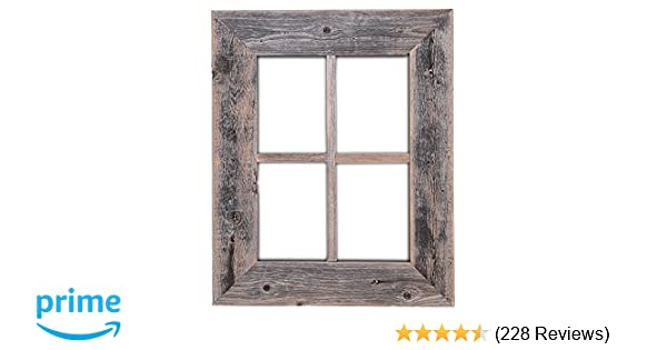 Amazon.com: Old Rustic Window Barnwood Frames - Not For Pictures by ...