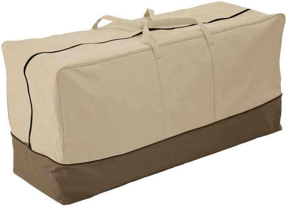 Patio Outdoor Furniture Cushion Cover Storage Bag, 45.7