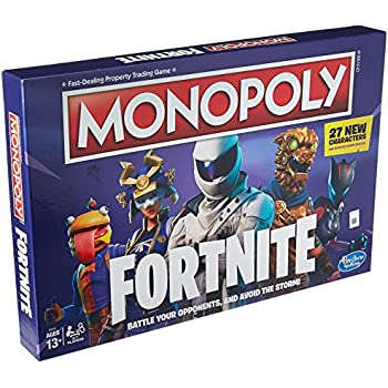 Amazon com: Monopoly: Fortnite Edition Board Game Inspired