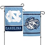 WinCraft NCAA University of North Carolina 12x18 Inch 2-Sided Outdoor Garden Flag Banner