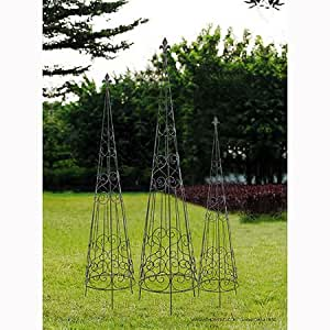 A&B Home Wire Plant Stand, Set of 4