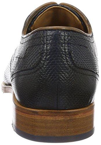 Daniel Hechter 811229101800, Zapatos de Cordones Derby para Hombre Azul (Dark Blue)