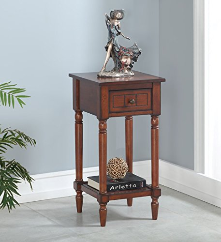 Convenience Concepts  Accent Table, Mahogany