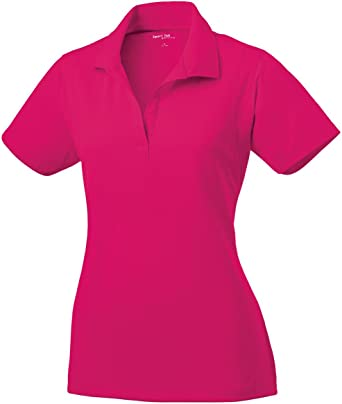 Sport Tek Micropique Sport Wick Polo St650 Pink Raspberry M At Amazon Women S Clothing Store Smooth micropique polos that wick moisture and resist snags. amazon com