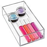 Makeup Vanity Drawers mDesign Cosmetic Drawer Organizer for Vanity Cabinet to Hold Makeup, Beauty Products - 4