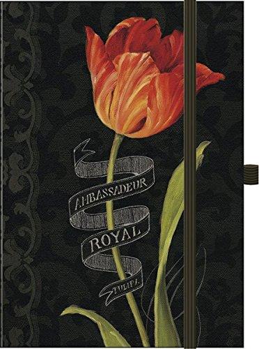Premium Timer Big 34;Tulipa Botanica34; 2016: Buchkalender mit hochwertiger Folienveredelung und Prägung