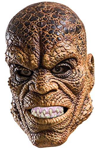 Rubie's Costume Co Men's Suicide Squad Killer Croc Mask, As Shown, One Size