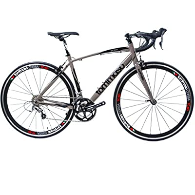 2015 Tommaso Monza Lightweight Aluminum Road Bike - Italian Heritage and Craftsmenship, Upgraded Shimano Gears
