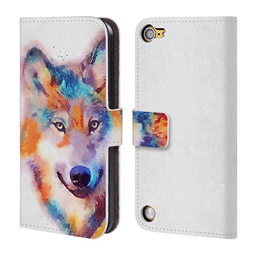 Official Jacqueline Maldonado The Faithful Animals Leather Book Wallet Case Cover For iPod Touch 5th Gen / 6th Gen
