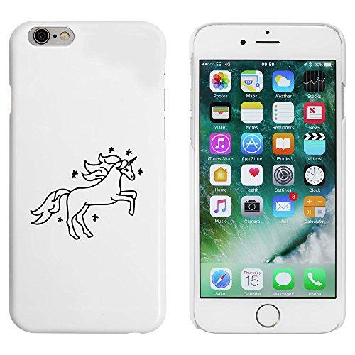 Weiß 'Schönes Einhorn' Hülle für iPhone 6 u. 6s (MC00087307)