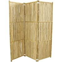 Zero Emission World Bamboo 3-Panel Folding Screens