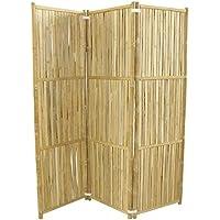Zero Emission World Bamboo 3-Panel Folding Screens
