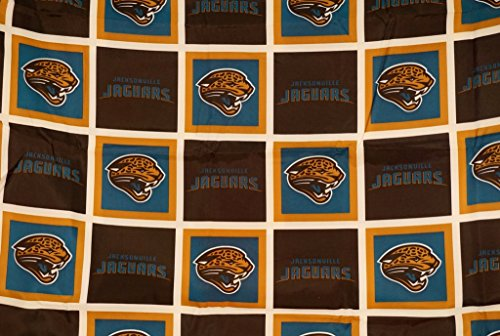 - The Northwest Company Jacksonville Jaguars Fabric Shower Curtain (72x72)