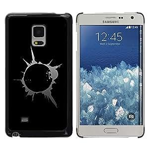 LECELL -- Funda protectora / Cubierta / Piel For Samsung Galaxy Mega 5.8 9150 9152 -- Abstract Splash Blast --