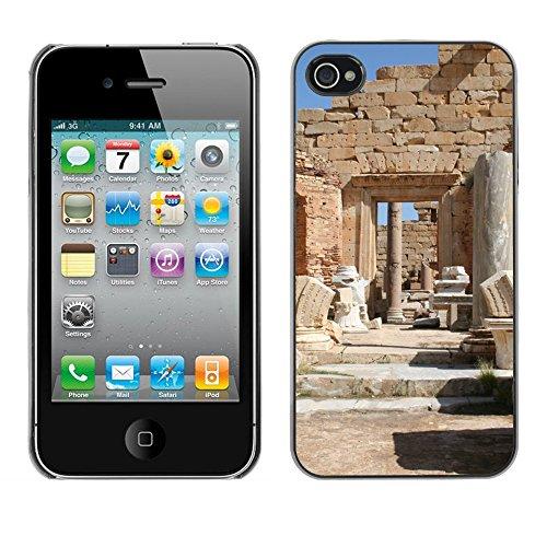 Premio Sottile Slim Cassa Custodia Case Cover Shell // F00006826 Libye // Apple iPhone 4 4S 4G