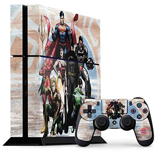 Justice League PS4 Console and Controller Bundle Skin - Justice League Heros | DC Comics X Skinit (Justice League Heroes)