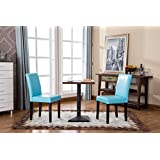 Roundhill Urban Style Solid Wood Leatherette