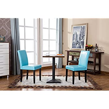 Amazon Com Best Selling Blue T Stitch Leather Dining