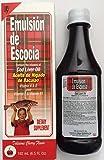 Emulsion De Escocia Cherry 6.5 Oz. Cod Liver Oil For Sale