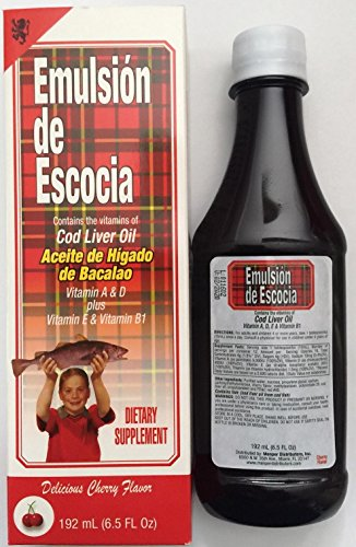 Emulsion De Escocia Cherry 6.5 Oz. Cod Liver Oil
